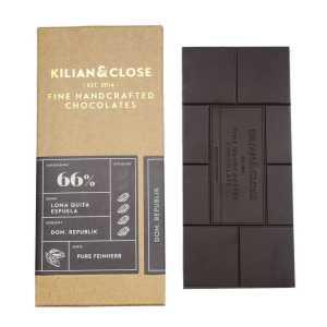 Kilian & Close Chocolade - 66% Pure Dominican Republic - Bio