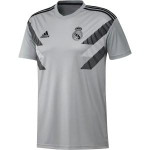 Real Madrid Pre-Match Shirt Junior 2018-2019 - Maat 176 - Kleur: Grijs   Soccerfanshop