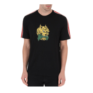 Sprayground Leopard Money T-shirt Senior Black - Maat S - Kleur: Zwart | Soccerfanshop