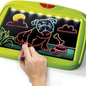 Clementoni magische effecten tekenbord met licht groen