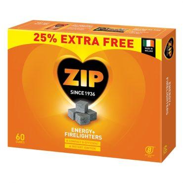 Buy Zip Firelighters 60 for 48's Wholesale From Kadona Wholesale Ltd.