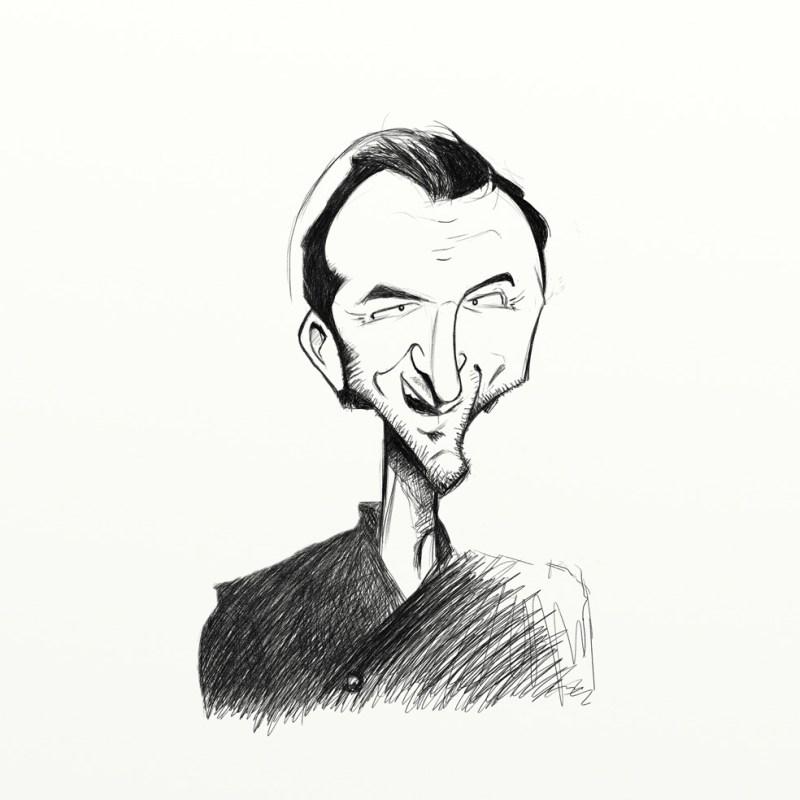 Caricature de Cyril Lignac - www.cyrillignac.com