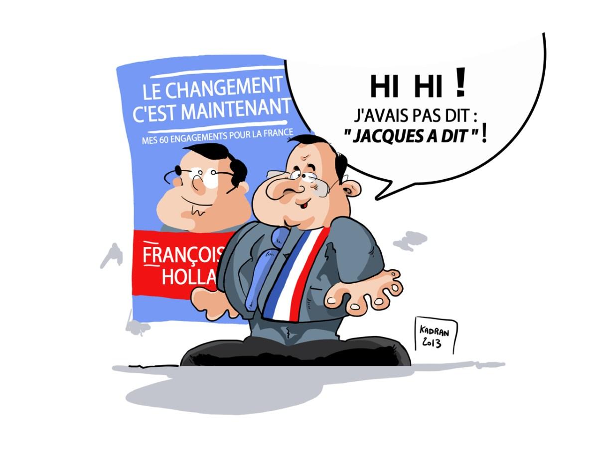 """J'ai pas dit : """" Jacques a dit """" !"""