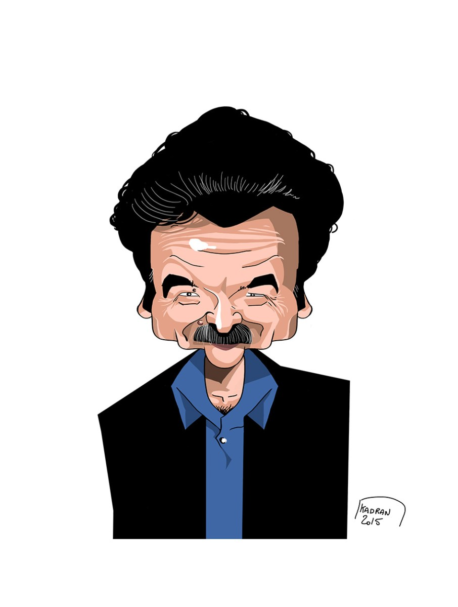 Edwy Plenel caricature