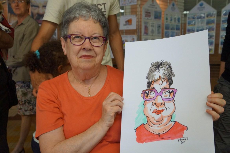 Offrez une caricature pour la fête des mères