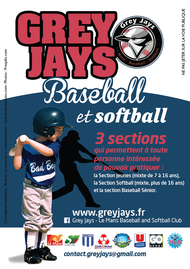 Grey Jays, Baseball et Softball sur le Mans