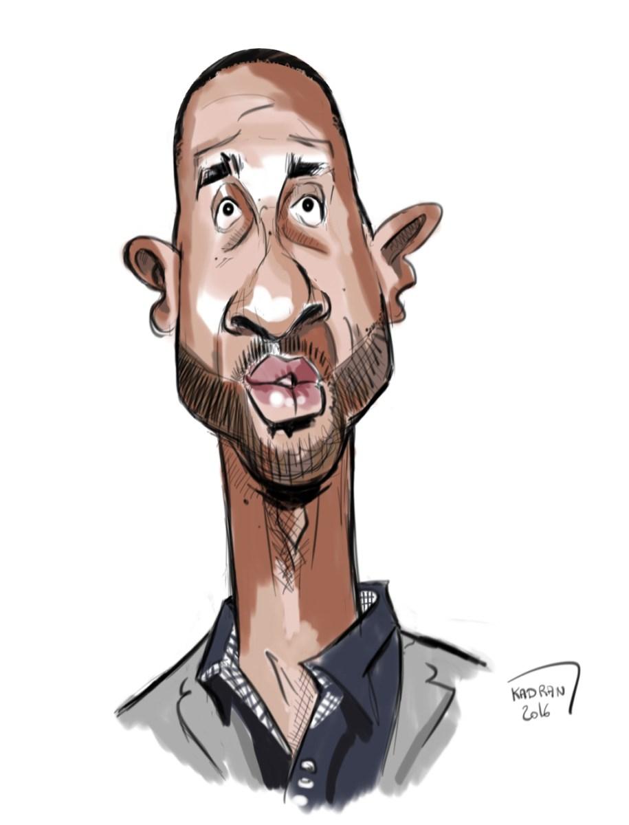 Sketching caricature pour un basketteur sarthois, lequel ?