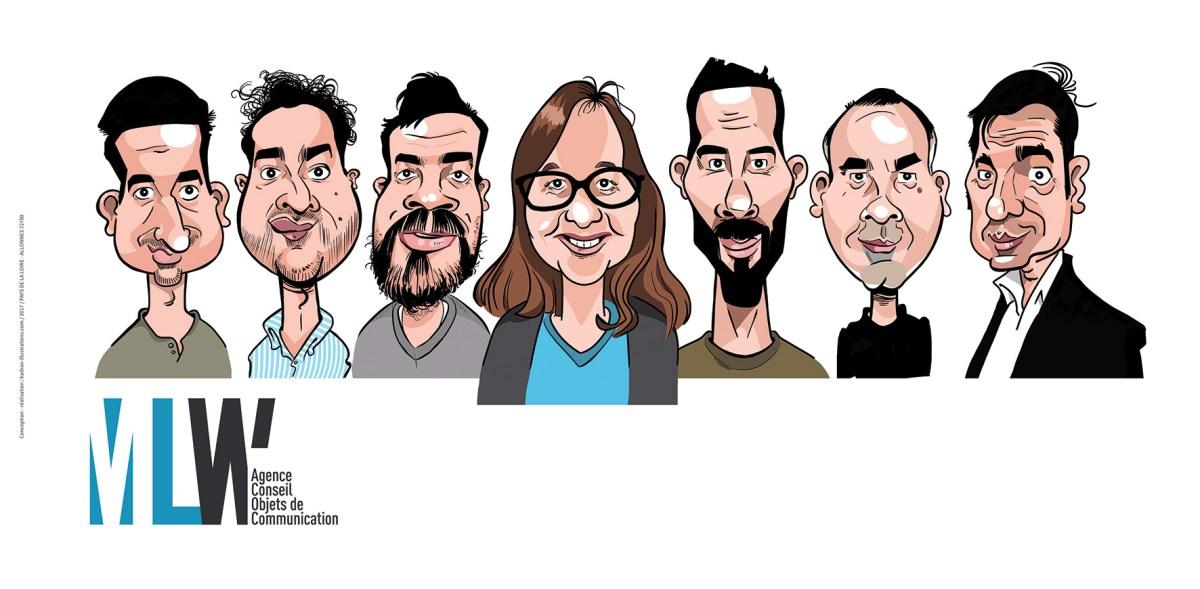 Les employés(ées) du mois... en caricatures