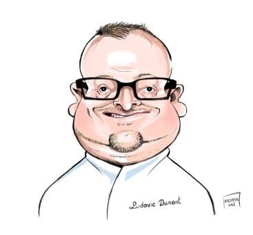 Ludovic Dumont caricature d'un Masterchef