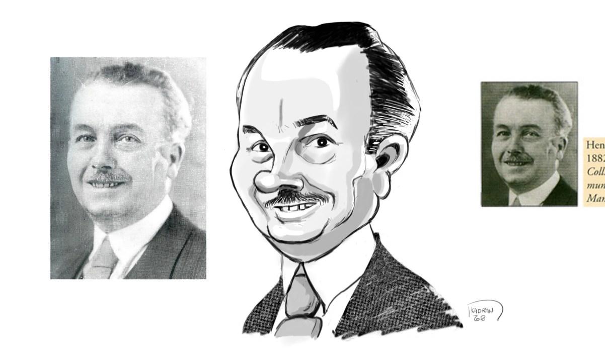 HENRI-LEFEUVRE_caricature-sketch