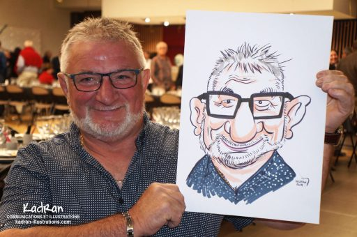 Départ en retraite et en caricatures de Jean-Pierre