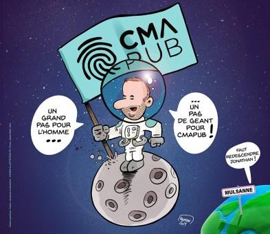 Un pas de géant pour CMA PUB