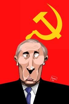 Vladimir Poutine caricature