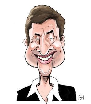 Caricature de Bruno Vandestick