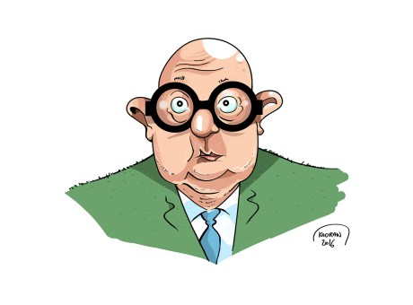Jean-Pierre Coffe caricature