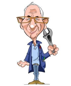Offrez une caricature pour un cadeau personnalisé lors d'un départ en retraite
