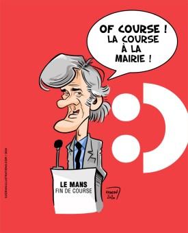Stéphane Le Foll : Of course ! La course à la mairie !