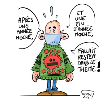18 décembre : la ville du Mans célèbre la journée internationale du pull moche