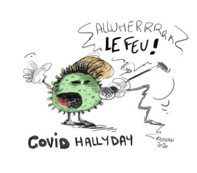 Covid Hallyday