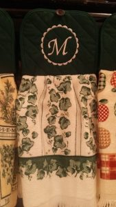 EMBROIDERED HAND TOWELS - customizable