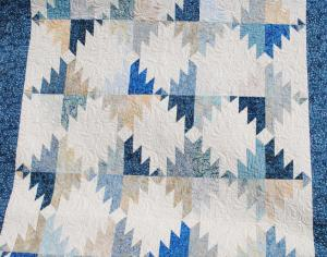 GRAND ADVENTURE QUILT - Pieced & quilted by Kadydid Studio