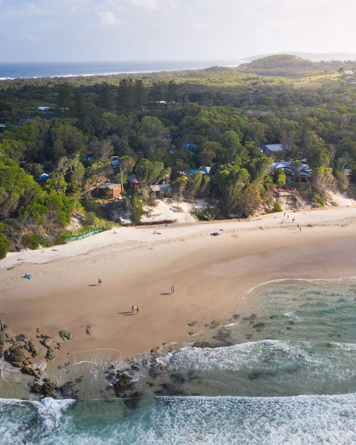 Drone Of Reflections Clarkes Beach