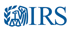 IRS Logo for Tax Refund