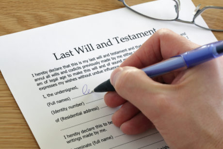 Estate planning basics last will and testament