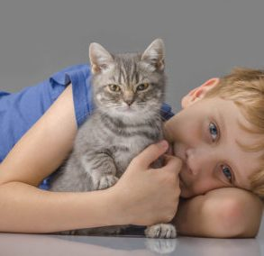 estate planning for parents happy chiled with kitten