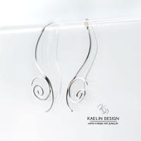 Chrysalis Sterling Silver Earrings