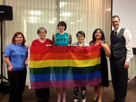 Presenting an LGBTQ program for Sex Discussed Here - 2013