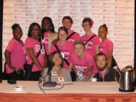 Students I worked with as the coordinator of the young adult engagement program at Planned Parenthood of the Rochester/Syracuse Region - 2009