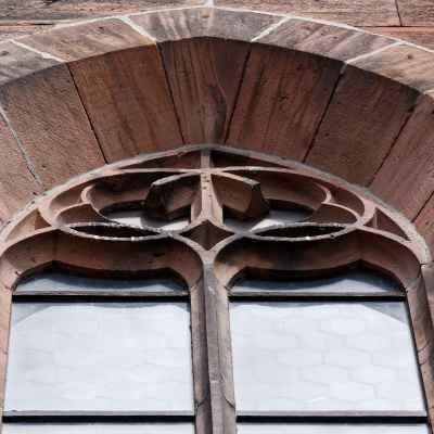 Fenster an der Südwand