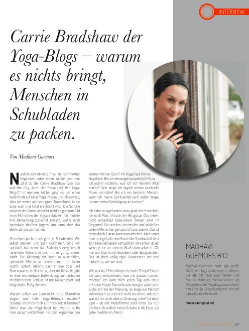 Madhavi Guemoes Yoga Deutschland