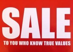 イオンモール徳島で在庫処分品をオトクに買うなら、この日!