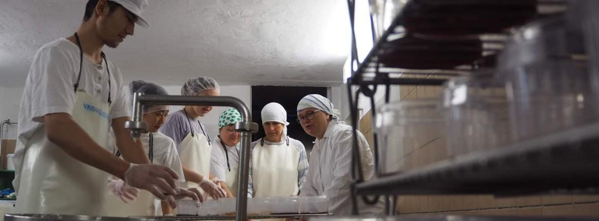 kaese, bornwiesenhof, käserei, handwerkliche milchverarbeitung, hof, hofkäse, joke