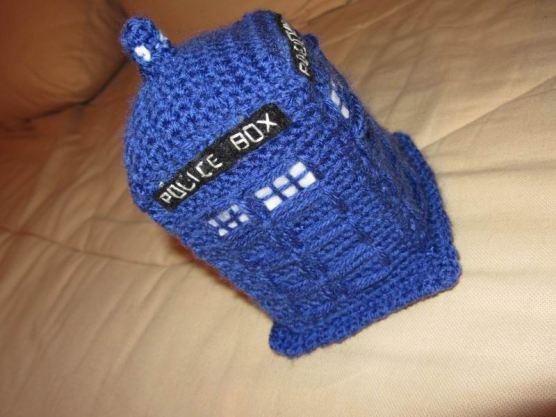 Le TARDIS de DR WHO (cadeau d'anniversaire pour mon frère grand grand fan du Docteur^^)