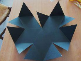 plier les différents triangles