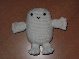 Un Adipose, pour un fan de Dr Who
