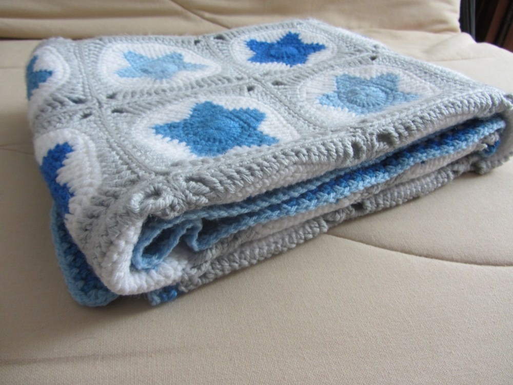 Couverture Etoiles / All star Baby Blanket (6/6)
