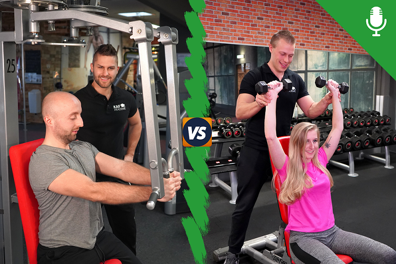 Personal Training vs. Fitnesstraining Unterschiede