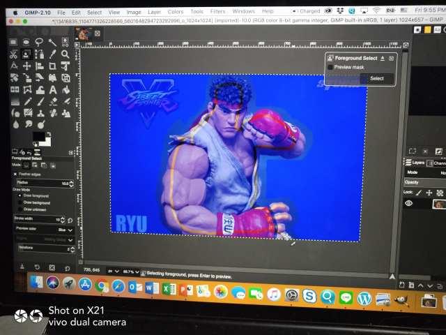 ลองเล่น GIMP แทน Photoshop 2