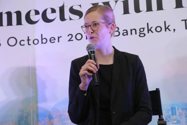 Liza Frammhold ผู้ชนะเลิศในโครงการ Adecco CEO for 1 Month ประจำปี 2018 นี้