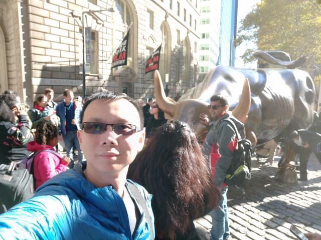 Charging Bull รูปปั้นที่ขึ้นชื่อตรงถนน Wall Street