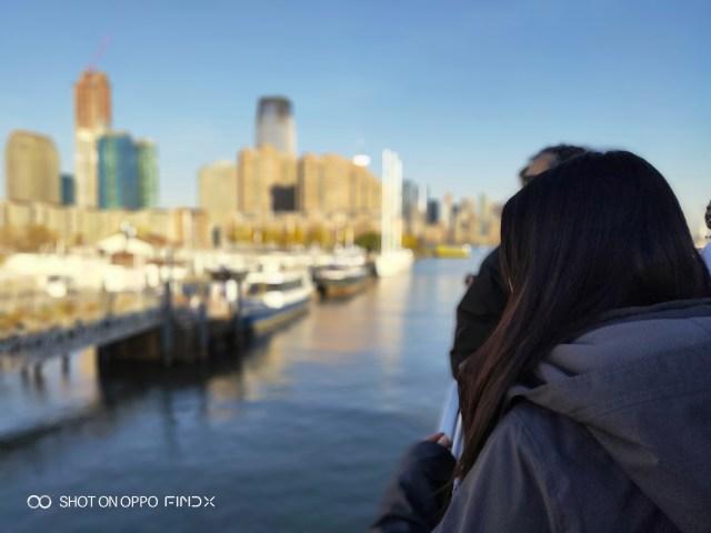การถ่ายภาพใน Portrait mode ของ OPPO Find X ตัดภาพได้ค่อนข้างเนียนดี เบลอได้สวย