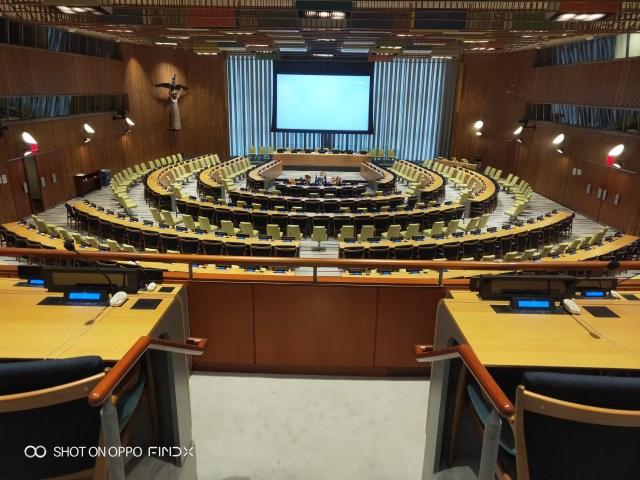 Economic and Social Council Chamber ณ สหประชาชาติ สำนักงานใหญ่
