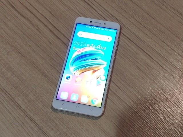 ด้านหน้าของ Tecno Mobile Pop 1 Pro