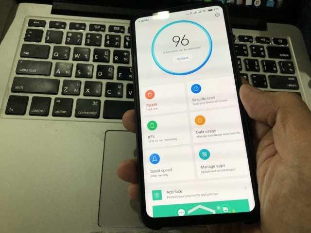 แอป Security ของ Xiaomi Mi Mix 3