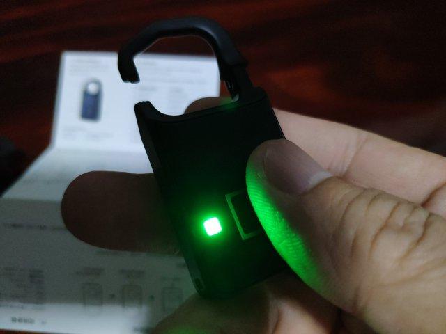 รีวิว กุญแจล็อกด้วยลายนิ้วมือยี่ห้อหนึ่ง เวิร์ก ไม่เวิร์ก ยังไง 5