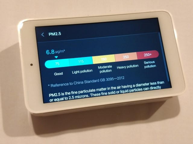 รีวิว Xiaomi Mi Jia Multifunction Air Monitor เครื่องวัดคุณภาพอากาศแบบครบเครื่อง 8
